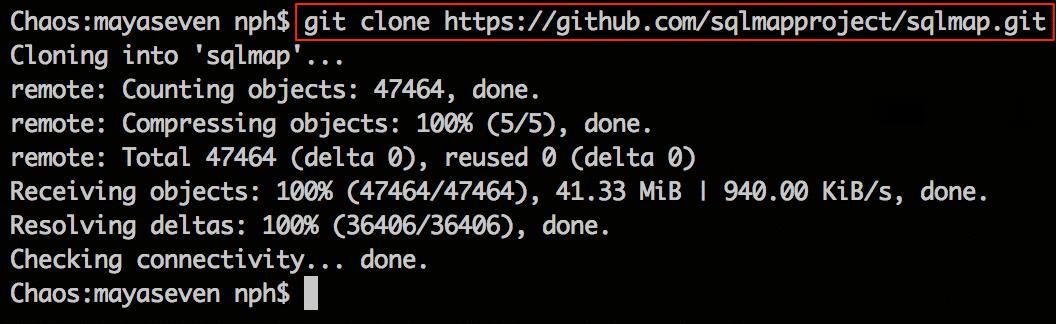 clone SQLMap